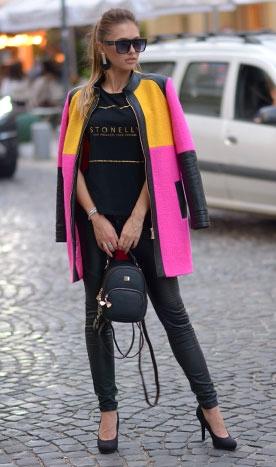 Palton dama toamna J'adore Luxury Roz