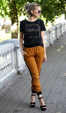 Pantaloni Pique