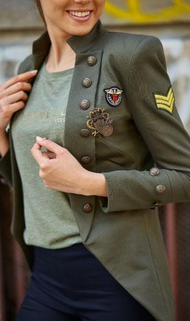 Sacou dama army Air Force